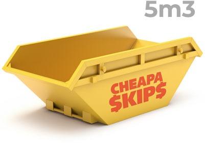 5 Metre Skip Bin