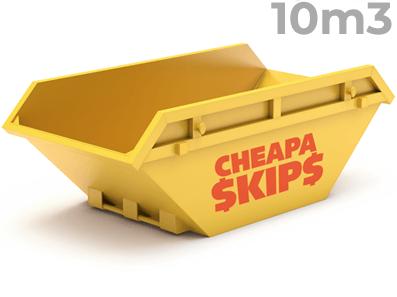 10 Metre Skip Bin